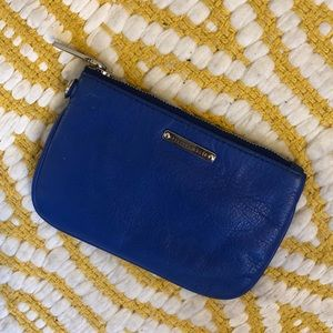 Rebecca Minkoff Royal Blue Leather Coin Purse